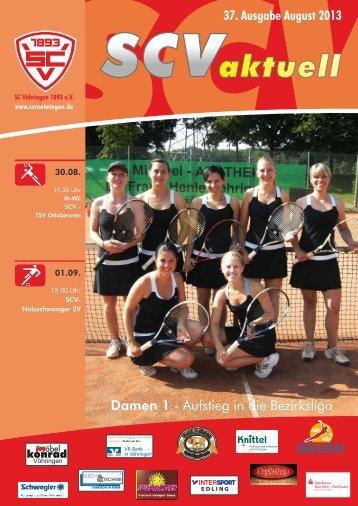 August 2013 - Sport Club Vöhringen 1893 e. V.