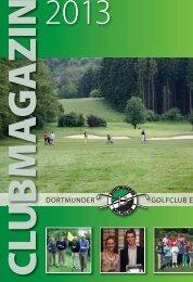 Clubmagazin - Dortmunder Golfclub eV