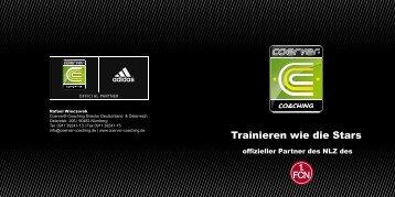 Kurzinformation für interessierte Vereine - 1. FC Nürnberg