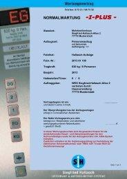 NORMALWARTUNG -I-PLUS - - Hallasch Aufzüge