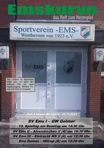 131103_Emskurve - SV Ems Westbevern