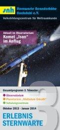 3. Semester 2013/14 - Sternwarte Neanderhöhe Hochdahl e.V. - RP ...