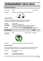 Gesamtangebot 2013/14 Kursinfo Stand 25.10.2013 - Wilhelm-Löhe ...