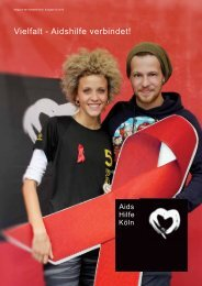 Magazin 02_2013_ger_FINAL.indd - Aidshilfe Köln