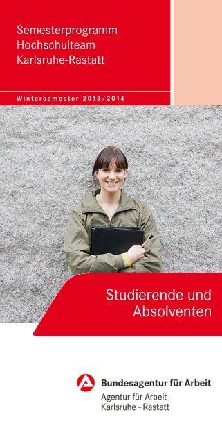 Wintersemester 2013/14 - Bundesagentur für Arbeit