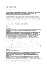 Psychometrikerin / Psychometriker (100%)