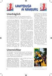 Lampedusa in Hamburg - Gewerkschaft Erziehung und Wissenschaft
