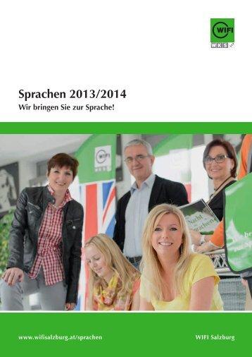 Sprachen 2013/2014 - WIFI Salzburg