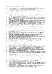 Publikationsliste Dr. Alfred Uhl (Stand Dez. 2013) 1. Springer, A ...