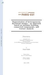 Segmentation of heterogeneous document images : an ... - Tel