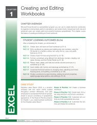 Chapter 1 - Excel - McGraw-Hill