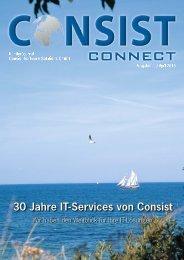 Consist Connect 11, April 2013 - Consist Software Solutions GmbH