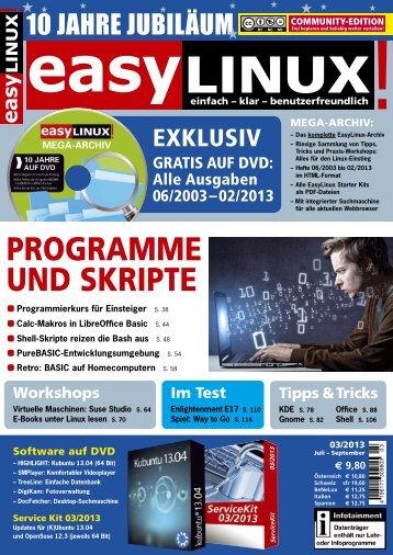 Community Edition dieser Ausgabe (PDF) - EasyLinux