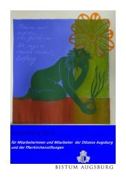 Fortbildung 2014 für Mitarbeiterinnen und ... - Bistum Augsburg