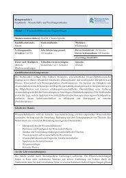 Kompetenzfeld 1: Propädeutik – Wissenschafts- und ...