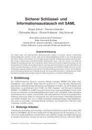 Paper - Horst Görtz Institute for IT-Security - Ruhr-Universität Bochum