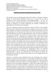 Protokoll - Hochschule Magdeburg-Stendal