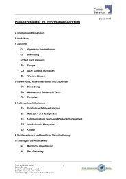 Arbeitsblatt -Zielformulierung - Stand 09/06 - Freie Universität Berlin