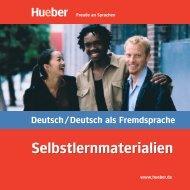 Prospekt DaF - Hueber