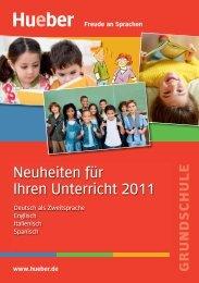 Grundschulkatalog 2011 - Hueber