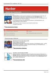 Deutsch als Fremdsprache 3/2012 - Hueber
