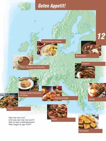 Lektion 12A: Das isst man bei uns und anderswo - Hueber