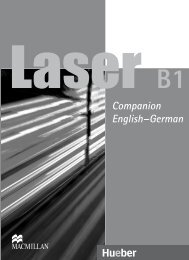 Companion English–German - Hueber