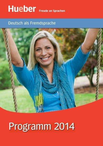 Programm 2014 - Hueber