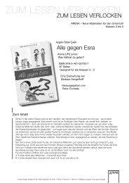 gegen Esra - ARENA Verlag