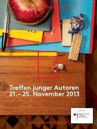 Magazine - Berliner Festspiele