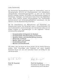 """Veranstaltungsbereich """"Kreativitätswerkstatt"""" - Hochschule ..."""
