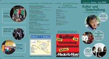 Kultur und Unterhaltung - Stadt Hückelhoven