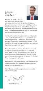 """""""Grenzüberschreitungen""""– """"Crossing Borders"""" - Bundesstadt Bonn - Seite 2"""