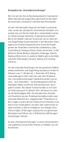 """""""Grenzüberschreitungen""""– """"Crossing Borders"""" - Bundesstadt Bonn - Seite 4"""