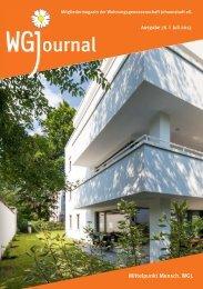 ournal - Wohnungsgenossenschaft Johannstadt eG