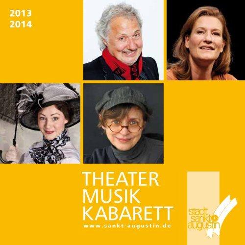 Theaterprogramm 2013/2014 - Stadt Sankt Augustin