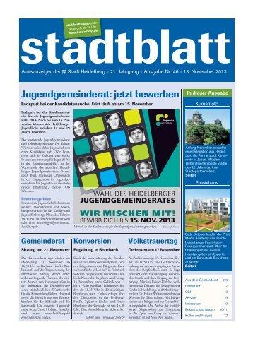 Ausgabe 37 vom 12. September 2012 - Stadt Heidelberg