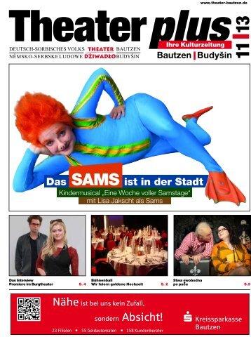Das SAMS ist in der Stadt - Deutsch-sorbisches Volkstheater