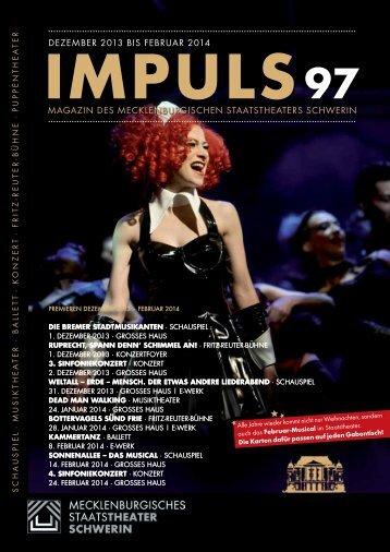 Dezember 2013 (PDF 2,8 MB) - Mecklenburgisches Staatstheater ...
