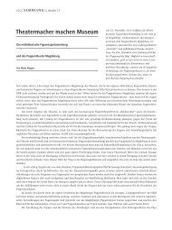 Theatermacher machen Museum - Puppentheater Magdeburg