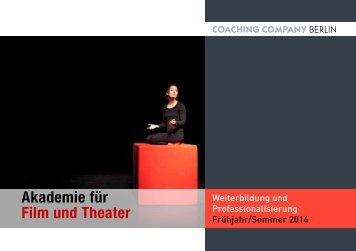 Seminarprogramm als PDF - Coaching Company Berlin