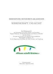 Programmheft Sommersemester 2013 - Dresdner ...