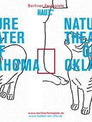 Broschüre Nature Theater of Oklahoma - Berliner Festspiele