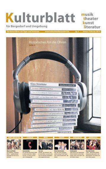 musik theater kunst literatur - Bergedorfer Zeitung