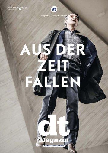 Ausgabe 2 - Spielzeit 2013/14 - Deutsches Theater