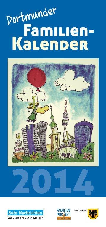 Familienkalender 2014 - Stadt Dortmund