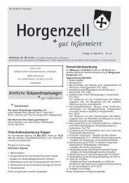 Ausgabe vom 10. Mai 2013 - Horgenzell
