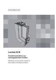 Serie LAMBDA 65 M - Stand 10/2012 - HUECK + RICHTER ...