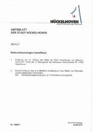 Page 1 / l. HÜCKELHOVEN ZUKUNFT ZWISCHEN RHEIN UND ...
