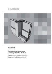 Serie VOLATO S - HUECK + RICHTER Aluminium GmbH